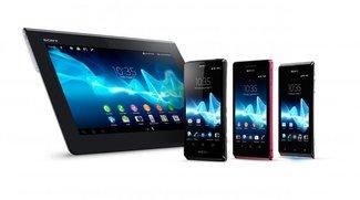 Sony Xperia T, V und J: Neue Modelle bereits vorbestellbar