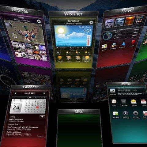 SPB Shell 3D: Schicker Homescreen mit stolzem Preis
