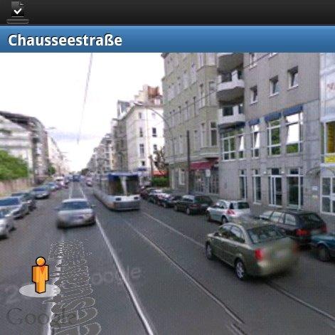 Street View: Auf Android-Handys öffnen und nutzen
