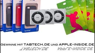 Gewinne 5 x iPhone 4 Cases, 5 x 15€ iTunes Voucher und wenn ihr fleißig seid 3 x iPod Shuffle (Update)