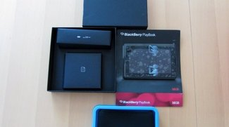 Erstes BlackBerry Playbook Unboxing mit deutschen Video
