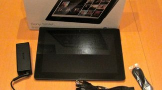 Sony Tablet S Unboxing und Hands On (Video)