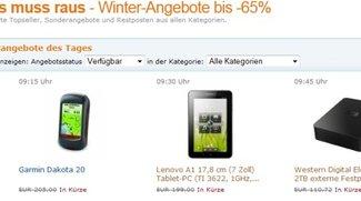 Deal: Amazon Winter-Angebote bis -65% - Lenovo IdeaPad A1 und vieles mehr