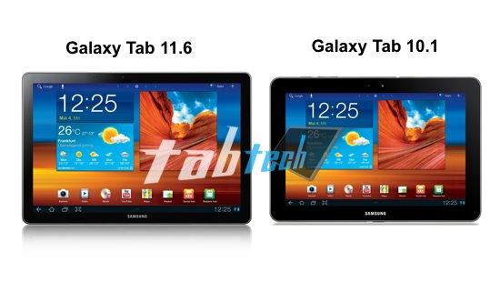MWC 2012: Samsung Galaxy Tab 11.6 mit 2Ghz Dual Core Prozessor und mit S-Pen? (MockUp)