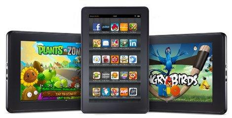 Gerücht: Amazon bringt nach dem Kindle Fire bis zu 6 weitere Tablets