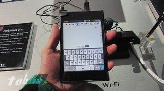 LG Optimus Vu: 5 Zoll Androide im 4:3 Format - Kurztest (Video und Bilder)