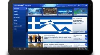 Tagesschau für Android: Nachrichten optimiert für Tablets