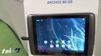 Archos 80 G9 mit Android Ice Cream Sandwich im Kurztest