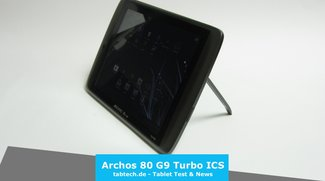 Archos 80 G9 Turbo ICS Test - Das Super-Günstig Tablet?