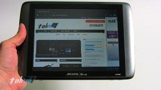 Archos 80 G9 Turbo ICS mit 1GB Ram im Unboxing und Kurztest (Video)