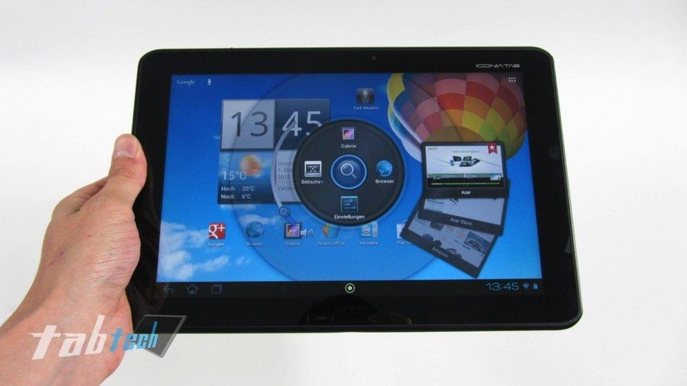 Acer Iconia Tab A510 Test - Starker Allrounder mit Riesenakku