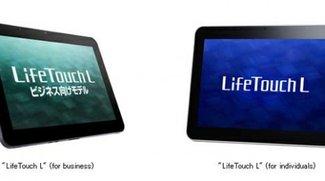 NEC LifeTouch L für Privatkunden und Geschäftsleute vorgestellt