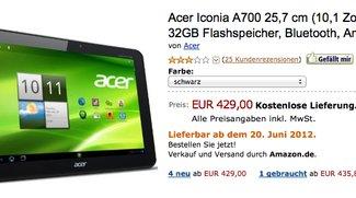 Acer Iconia Tab A700 mit Full HD Display kostet nur noch 429€