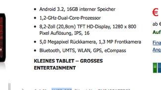 Deal: Motorola Xoom 2 Media Edition 3G für nur 299€