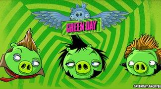 Green Day beehren Angry Birds Friends