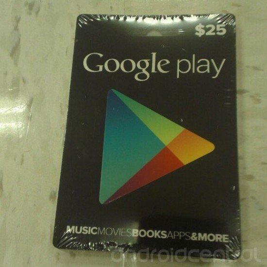 Google Play Store: Geschenk-Gutscheine im Anflug - Update: In den USA bereits im Handel - Update 2: Offiziell vorgestellt