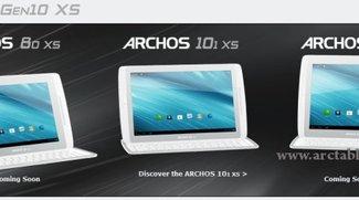 Archos Gen10 XS: Auch ohne Tastatur zu haben - 101 XS für 279 Euro, 80 XS unter 200 Euro