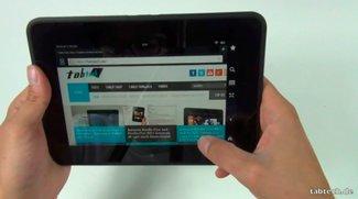 Amazon Kindle Fire HD Unboxing und Kurztest