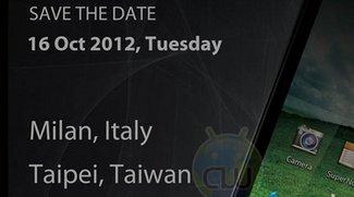 ASUS Padfone 2: Präsentation am 16. Oktober in Italien und Taiwan
