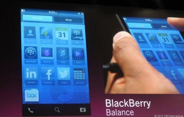 BlackBerry OS 10: RIM zeigt erste Features