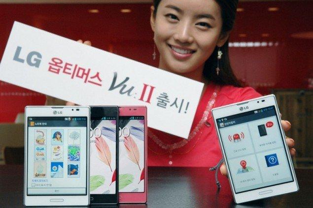 LG zeigt neue Displays für Smartlets und Tablets auf der CES 2013