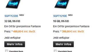 Sony Xperia Tablet S: In Deutschland auf Lager und Speed-Teardown Video veröffentlicht