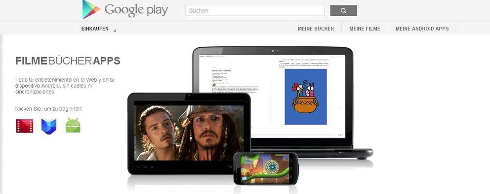 Google Play Store bietet nun auch mehr als 700.000 Apps