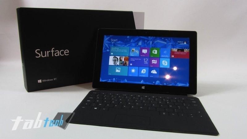 Microsoft Surface RT mit kostenlosem Type- oder Touch-Cover - Dell XPS 10 sinkt auf 300$ in den USA