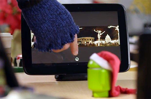 Google Nexus 10 Dock im Android-Weihnachtsvideo entdeckt