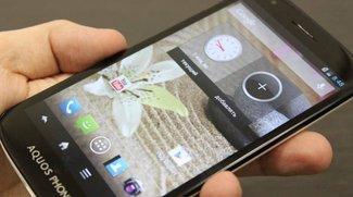 Sharp Aquos Phone SH930W: Smartlet in Russland auf den Markt gekommen