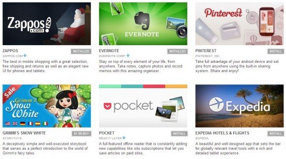 Das sind die besten Android Apps 2012 – sagt Google