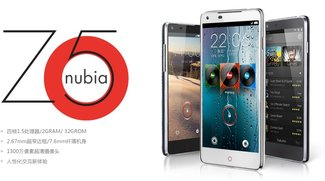 ZTE Nubia Z5 ist nun offiziell und teurer als erwartet - Update: Hands On Video