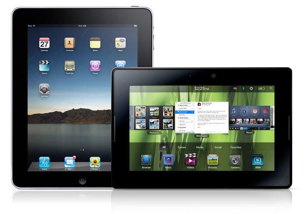BlackBerry PlayBook lässt das Apple iPad 4 in Großbritannien hinter sich