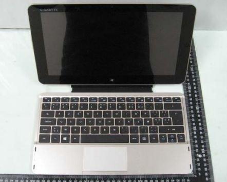 Gigabyte S1185: Windows 8 Tablet zeigt sich bereits bei der FCC