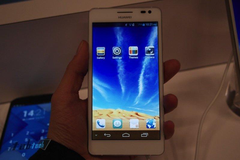 Huawei Ascend D2 in unserem Hands On Video und Vergleich mit dem Google Nexus 4