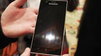 Lenovo IdeaPhone K900: 5,5 Zoll Full HD Smartlet mit Intel Atom Clover Trail+ Dual Core Prozessor - Update: Hands-On-Video
