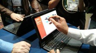 Lenovo ThinkPad Helix mit Windows 8 erscheint ebenfalls wesentlich später