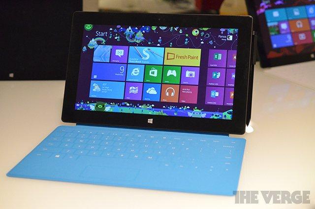 Microsoft Surface Pro mit 128 GB soll nur 83 GB freien Speicher bieten