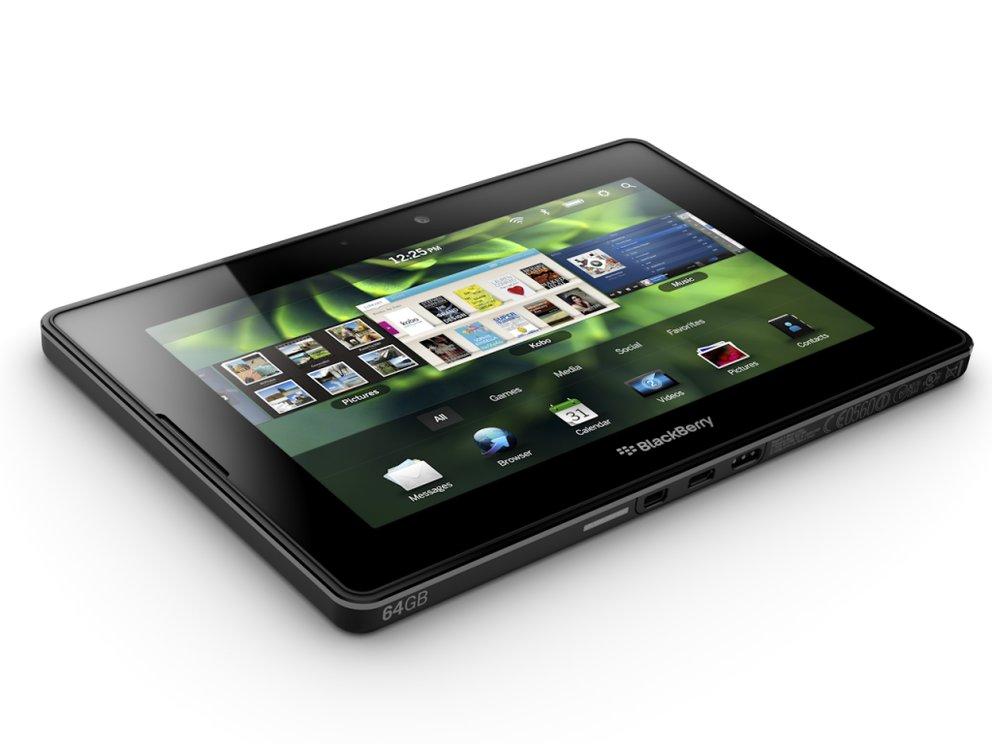 BlackBerry 10: Update für das BlackBerry PlayBook