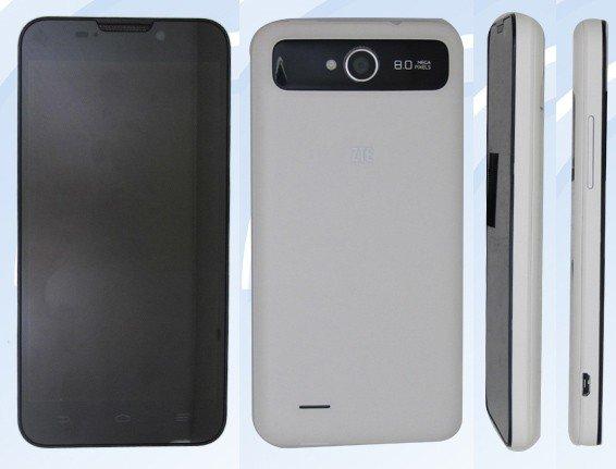 ZTE V987: Weiteres 5-Zoll-Smartlet mit Android 4.1 und 2.500 mAh Akku ähnelt dem Grand S
