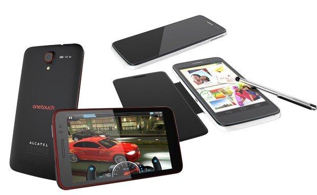 Alcatel One Touch Scribe X: unser Hands-On-Video vom 5 Zoll Smartlet auf der CES 2013