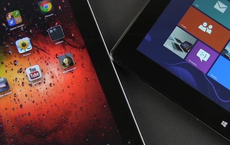 Video Vergleich: Asus Vivo Tab Smart vs. Apple iPad 4