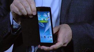 Samsung bestätigt flexibles 5,7 Zoll Full HD Display