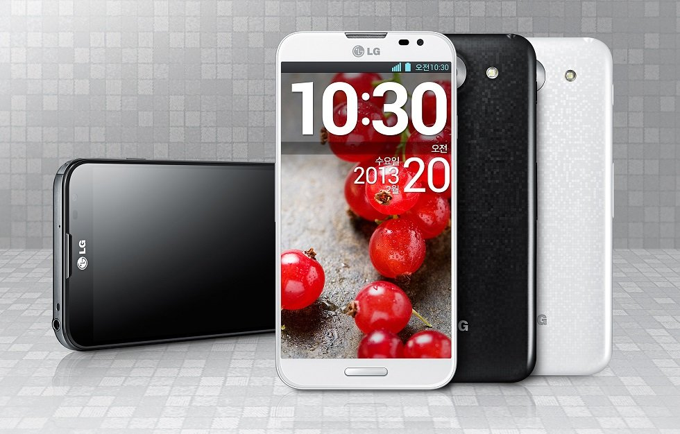 LG Optimus G Pro mit gebogenem 5.5 Zoll 1080p Display offiziell enthüllt