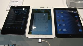 Unser Vergleichs-Video: Samsung Galaxy Note 8.0 vs Apple iPad mini vs Google Nexus 7