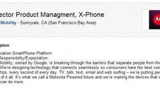 Motorola X Phone durch Stellenausschreibung bestätigt
