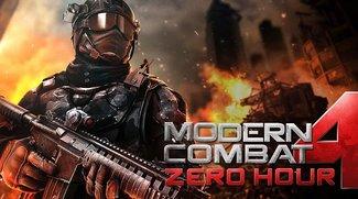 Modern Combat 4: Zero Hour erstmals auf 89 Cent reduziert
