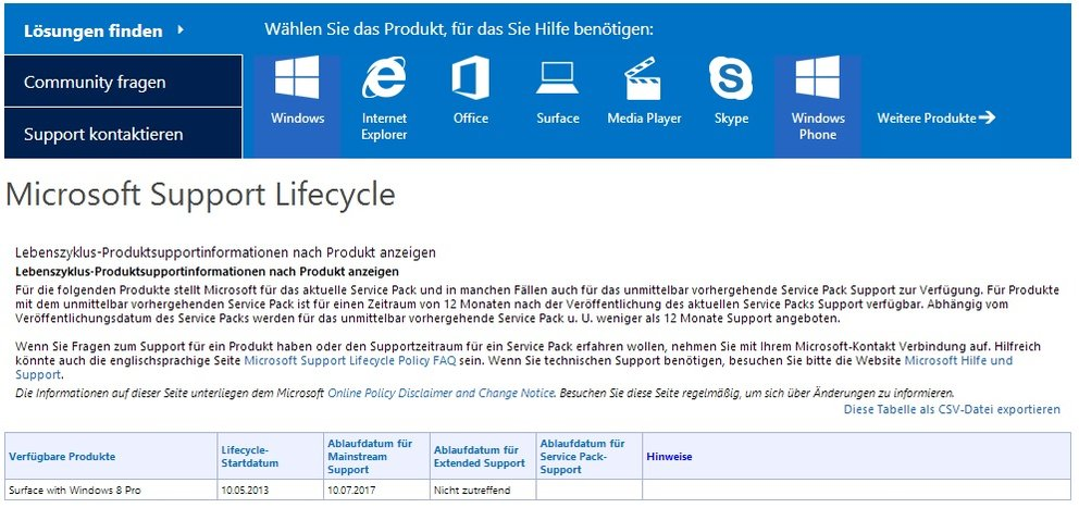 Lifecycle-Startdatum-surface_pro