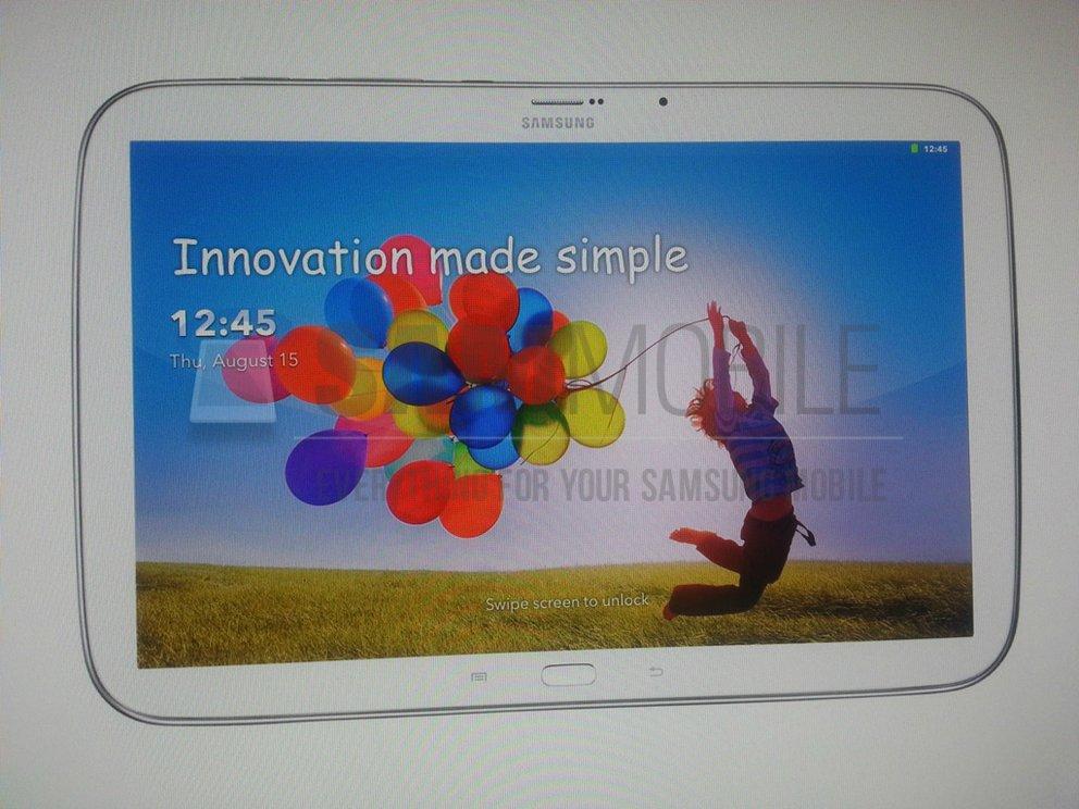Samsung Galaxy Tab 3 Plus: Angeblich erste Bilder und technische Daten