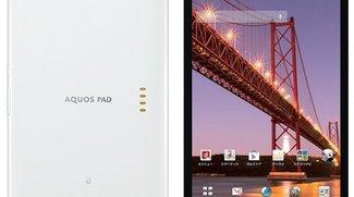 Sharp Aquos Pad SH-08E: 7 Zoll IGZO-Display mit 1920 x 1200 Pixel und Snapdragon 600